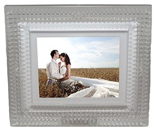Waterford Crystal Digital Photo Frame, 8-Inch by Waterford