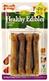 Nylabone Healthy Edibles Puppy Sweet Potato and Turkey, 4 Count, Petite for Dogs up to 15-Pound, My Pet Supplies