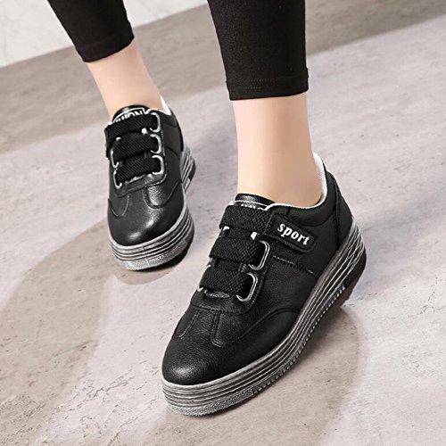 Verano de tacón de Lona Otoño Wind Zapatos Plano señoras Low Primavera Primavera Tablero Sneakers otoño Invierno Las Comfort Sports de Board CAI Low Zapatos Zapatos Mujeres de Las de qvC11