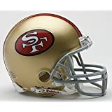 Riddell San Francisco 49Ers Replica Mini Helmet with Z2B Mask