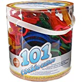 Wilton 2304-1050 101-Piece Cookie Cutter Set