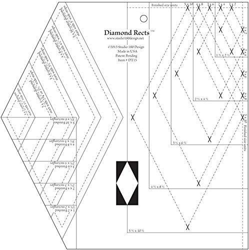 Diamond Rects - Quilting Tool Studio 180 Design 4336996938