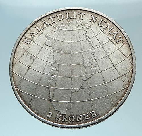(1953 DK 1953 DENMARK King Frederick IX & Queen Ingrid AR coin Good Uncertified)