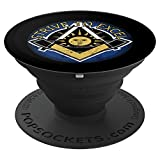 The Masonic Strive To Excel Masonic Sign - PopSockets Grip and Stand for Phones and Tablets