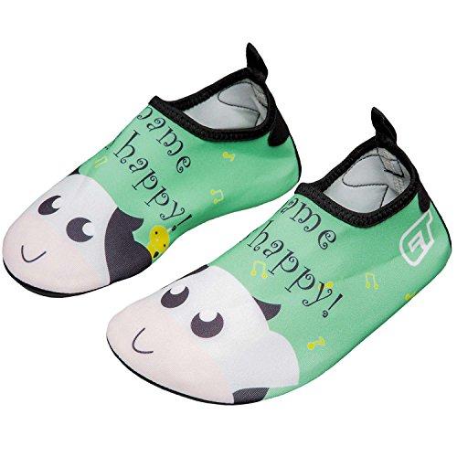 cfa2ed0a720a norocos Boys Lightweight Water Shoes Soft Barefoot Shoes Quick-Dry Aqua  Socks.