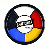 Graftobian Professional Makeup Clown Wheel, 1 Ounce