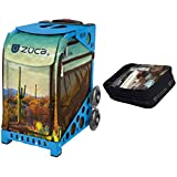 Zuca Cacti Sport Insert Bag & Blue Frame + Gift Utility Pouch
