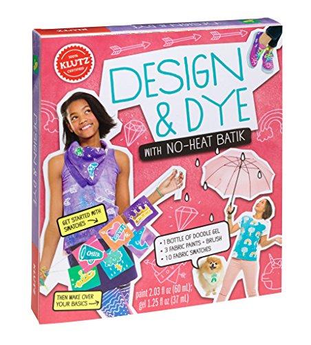 Ancient Page Dye - Klutz Design & Dye with No-Heat Batik Craft Kit