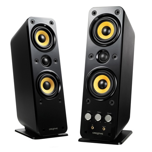 Creative GigaWorks T40 Series II 2.0 Multimedia Speaker System with BasXPort Technology by Creative