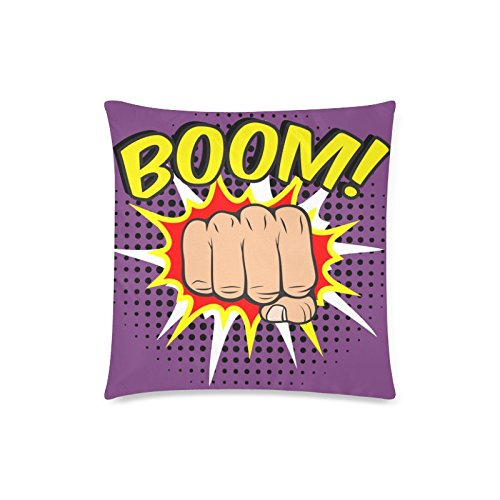 gunchu-custom-comic-boom-fist-decorative-throw-pillow-case-cushion-cover-18x-18