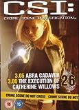CSI Crime Scene Investigation - Official DVD Collection - Abra Cadaver & Execution Of Catherine Willows