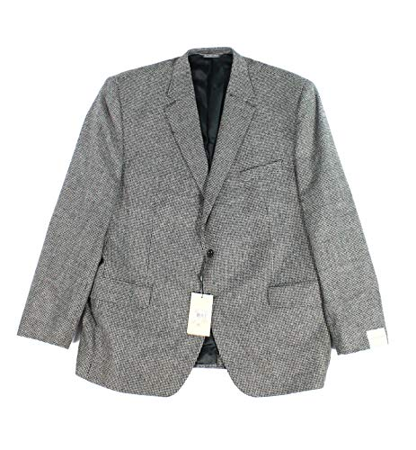Jack Victor Two Button - Jack Victor Mens Notch-Collar Two Button Wool Blazer