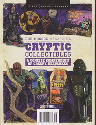 (Rue Morgue Magazine's Cryptic Collectibles 2015)