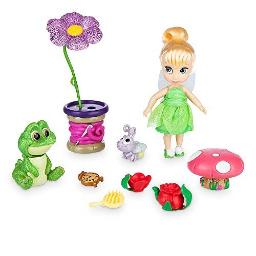 Disney Animators' Collection Tinker Bell Mini Doll Play Set - 5 Inch