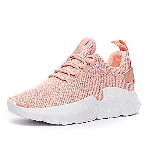 NGRDX&G Calzado Deportivo Para Mujer Zapatillas, Rosa, 37 37|Pink