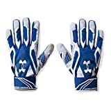 Under Armour Mens Motive III Batting Gloves, Royal/White, Small