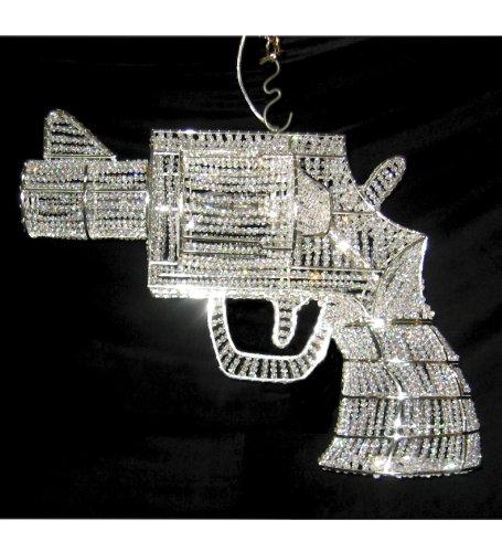 Crystal gun chandelier amazon kitchen home crystal gun chandelier mozeypictures Images