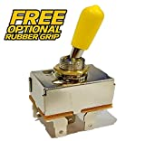 Power King 03-7101, 03-7301 Clutch PTO Switch - Free Rubber Grip Upgrade - HD Switch
