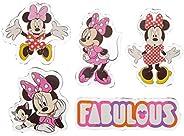 Cartela de Adesivos Jelly Sticker Minnie Infantil, Dermiwil