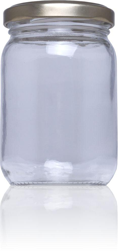 Frasco de vidrio conservas Stda 209 ml - Pack 75 u. Tapas Rioja