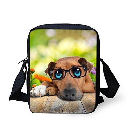 bandoulière HUGS Glasses CC3078E chat IDEA Dog Sac Y petit pour Noir femme aaZS1xqIw