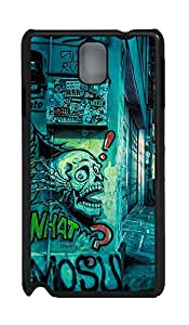 Samsung Galaxy Note 3 N9000 Cases & Covers - Urban Street Art PC Custom Soft Case Cover Protector for Samsung Galaxy Note 3 N9000 - Black