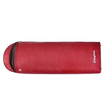 Kingcamp – Saco de dormir sobre favourer 900d para Camping senderismo – relleno de plumón de