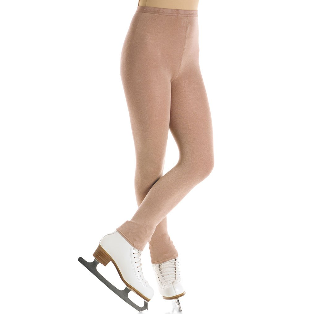 Mondor 3373 Women's Skating Tights Footless (Medium, Suntan) by Mondor