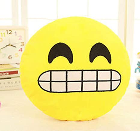 BYSDSG 6 Pulgadas Lovely Emoji Smiley Emoticon Almohadas ...