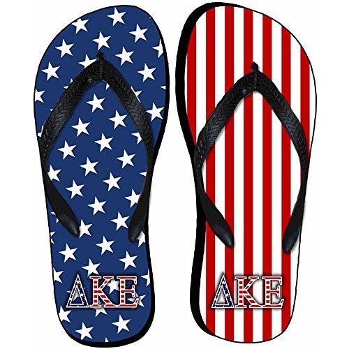 Infradito Di Bandiera Americana Delta Kappa Epsilon Dke
