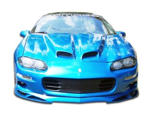 Urethane Vortex Front Lip Under Spoiler Air Dam - 1 Piece Body Kit - Fits Chevrolet Camaro 1998-2002 ()