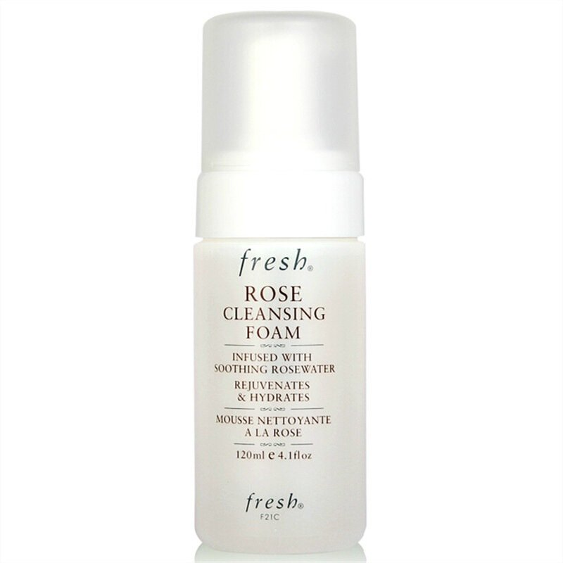 Fresh Rose Cleansing Foam, 4.1 Ounce by Fresh
