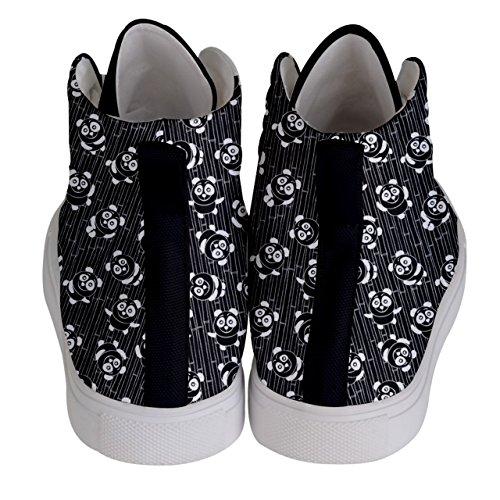 Blanc Mode Et Cowcow Pour Noir Baskets Rose Femme W67Azq8Sw