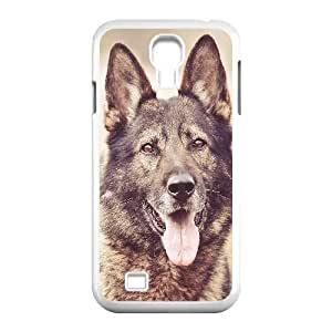 Samsung Galaxy S4 9500 Cell Phone Case White mo05 my shepherds dog smile animal nature LSO7749415