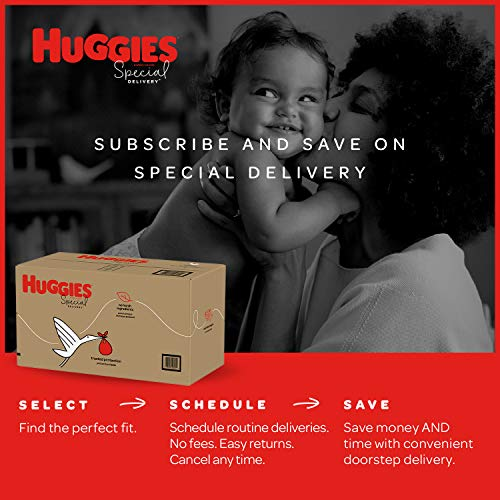 Huggies Special Delivery Hypoallergenic Baby Diapers, Size 2, 32 Ct