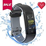 Amazon.com: H4 Fitness Health 2in1 Smart Watch for Men&Women ...
