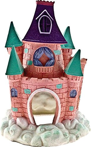 006053 Exotic Environments Pixie Castle Pink