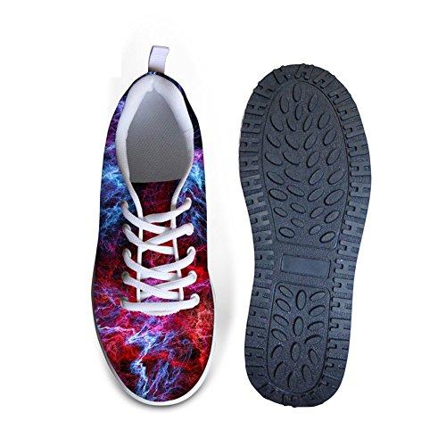 Comfort Platform Schoenen Voor Dames 3d Melkweg Lopen Sneakers Hakken Licht Vorm Up Multi Kleur Junior Meisjes Patroon 2