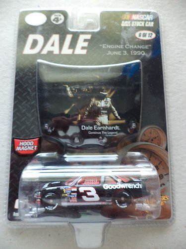Dale Earnhardt Sr #3 Engine Change At Dover During Race June 3, 1990 GM Goodwrench 1/64 Scale Diecast Winners Circle 2007 Edition Dale The Movie Edition Continue The Legend Issue (Goodwrench Engine)