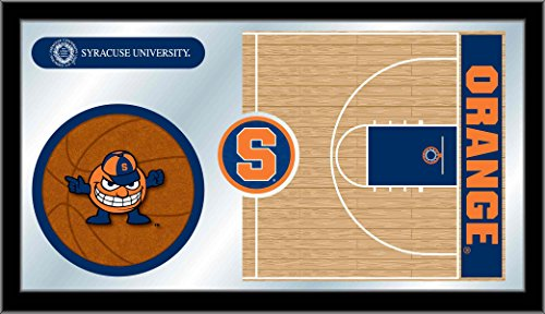 Syracuse Orange Basketball Logo Mirror by Holland Bar Stool Co.