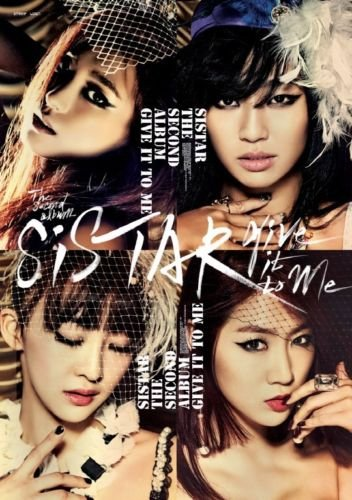 SISTAR [GIVE IT TO ME] 2nd Album CD+92p Photobook+Tracking Number K-POP SEALED