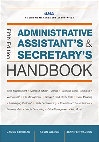 Office Handbook (Administrative Assistant's and Secretary's Handbook)