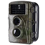 #4: AUCEE Hunting Camera, 12MP 1080P Full HD Trail Camera Infrared Wildlife Camera with Night Vision up to 65FT, 2.4 inch LCD Screen and IP56 Waterproof Game Cam for Wildlife Monitoring