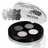 Lavera Beautiful Eyeshadow - Quattro ∙ Color Smokey Grey ∙  Long Lasting, Four Talc-Free Matte...