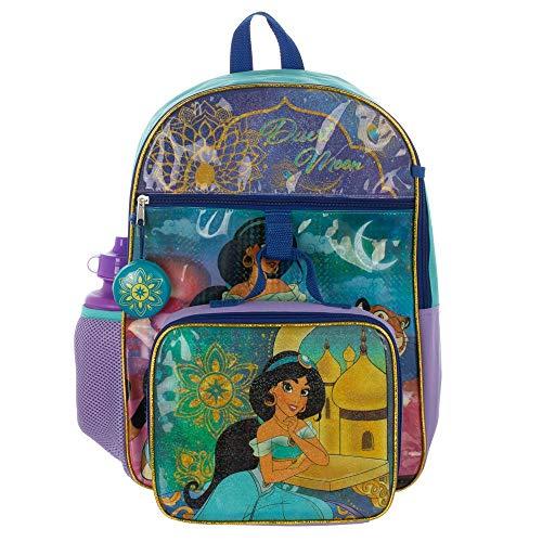 Disney Princess Jasmine Backpack Aladdin Accessories