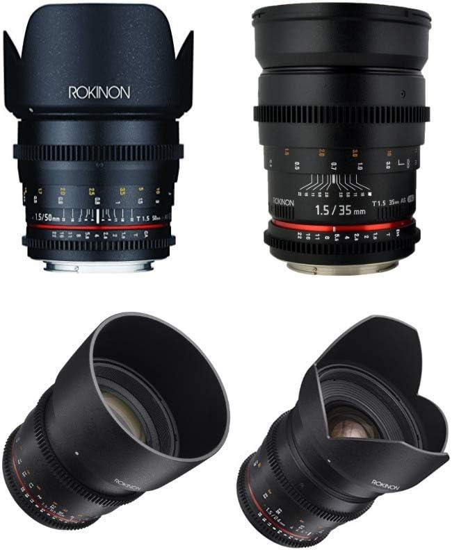 Rokinon Cine Ds T1 5 Videofilmer 4 Lens Kit Für Micro Kamera
