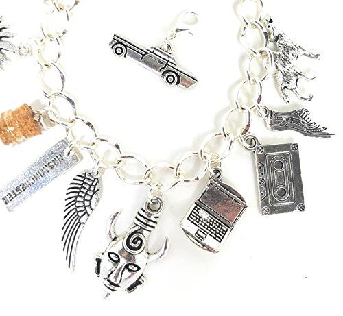 Supernatural Charm Bracelet, Deans Amulet, Mrs  Winchester