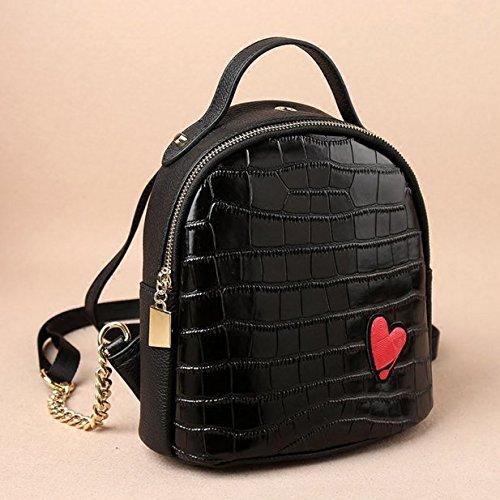 HEYFAIR Womens Cute Love Leather Backpack Purse Casual School College Daypack Bag by HEYFAIR (Image #1)