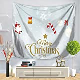 Tapestry, christmas series of printing, personalized decorative hanging cloth, decorative background tapestry wall-B 150cm130cm