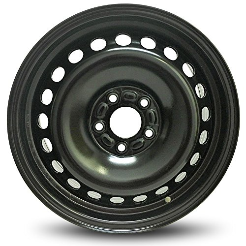 New Ford Focus 16 Inch Black Steel Rim Full Size Replica Spare Wheel (16x6.5 5x108mm or 5x4.25